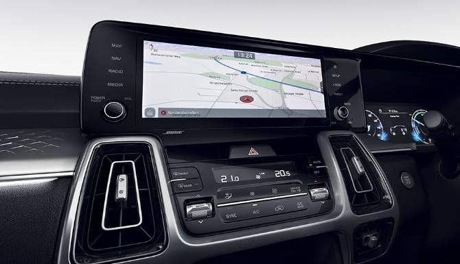 kia sorento my21 rhd 1025 navigation system 960x720