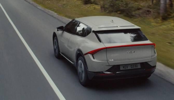 Kia EV6 Driving Range
